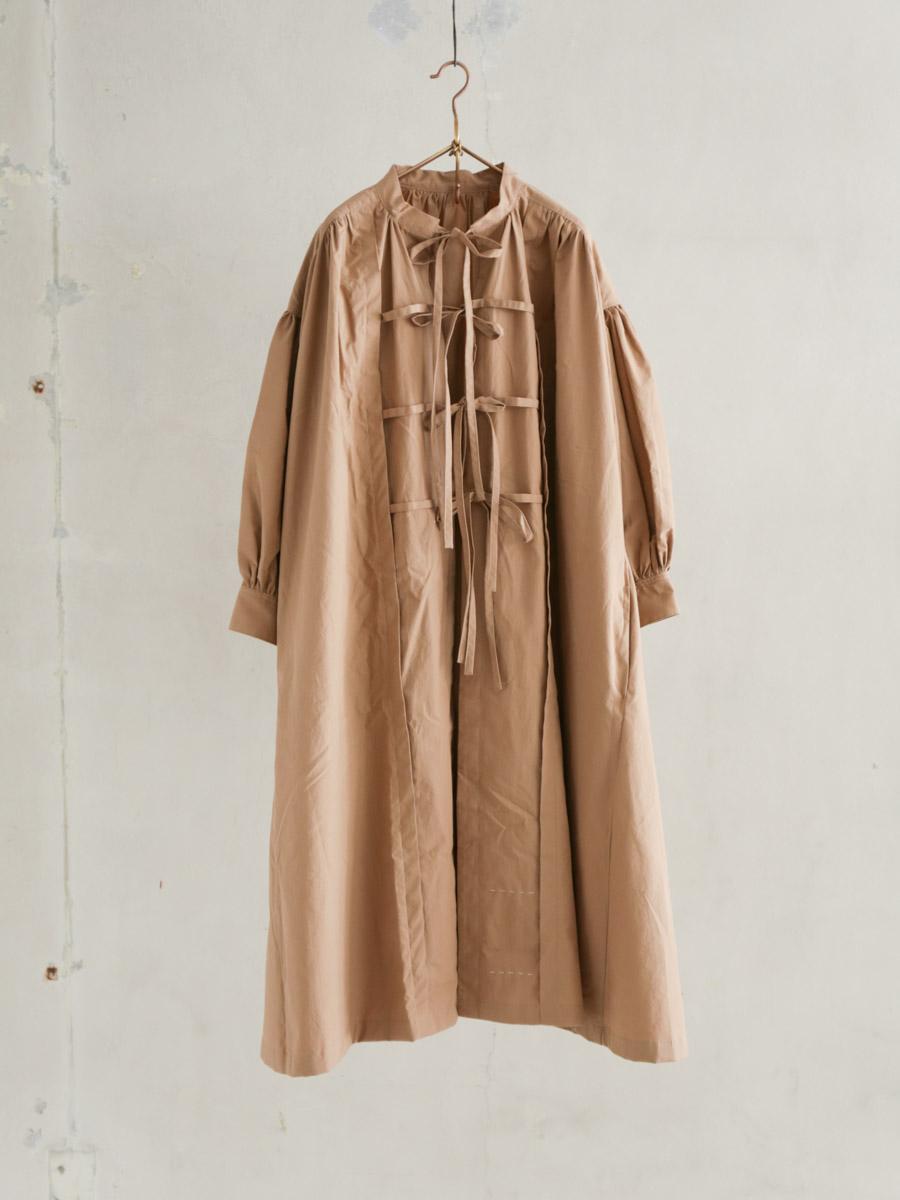 秋霧のsmock dress